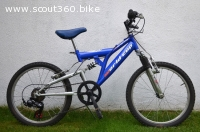 "BICICLETTA MOUNTAIN BIKE ""WORLD CUP""  BAMBINO 6-9 anni"
